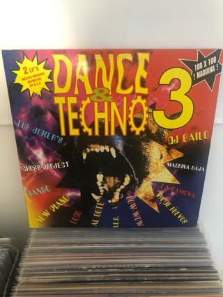 Doble Vinilo Dance & techno 3