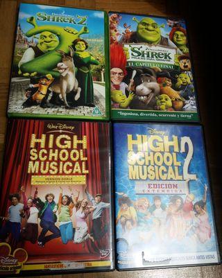 Películas DVD infantiles, cine infantil