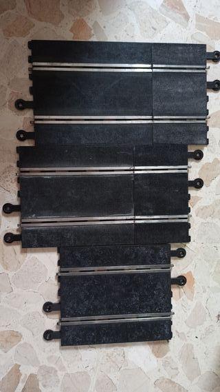 5 pistas scalextric +10 recambios trencillas