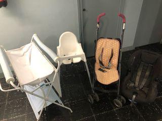 Pack bañera sillitas y trona