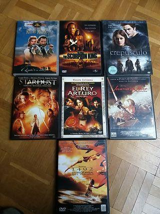 DVD Películas de aventuras/fantasía