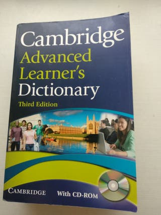 Cambridge, diccionario inglés Advanced