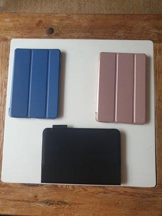 iPad mini, teclado Logitech, fundas ESR