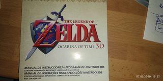 instrucciones Zelda ocarina of time 3ds