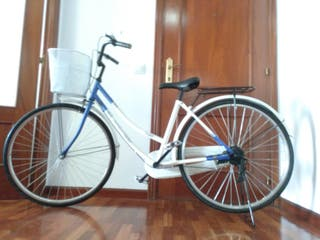 Bicicleta de paseo transformable
