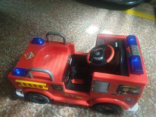 Camion de bomberos electrico 12v