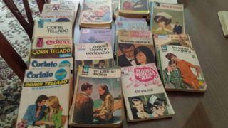 Corín Tellado y varias novela romantica