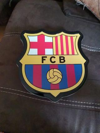 Caja chapa futbol club Barcelona