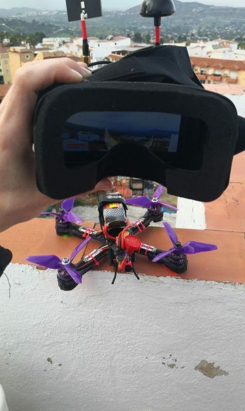 Dron de carreras FPV