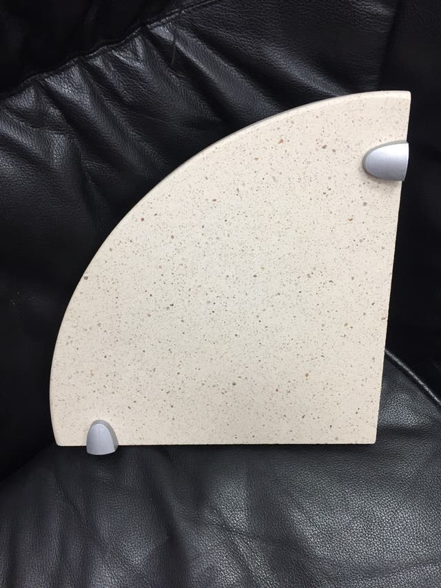 Rinconeras Silestone 25x25 c/ soportes