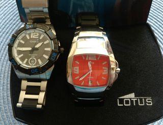 2 relojes LOTUS y CASIO originales