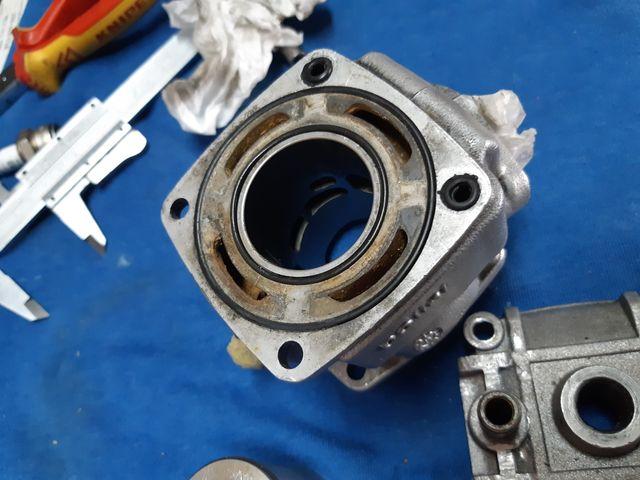cilindro pistón y culata minimoto polini de agua