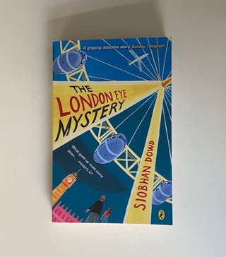 Libro en inglés The London eye mystery