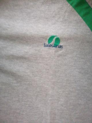 camiseta del chandal Colegio San José Salesianas