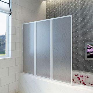 Mampara bañera plegable 125cm Envio gratis