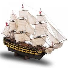 Maqueta barco HMS Victory escala 1:84 (