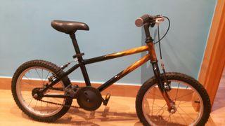 "bici de rueda de 16"""