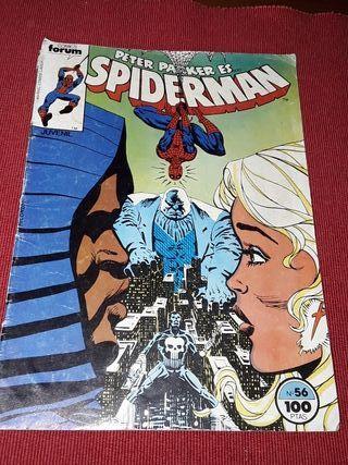 Spiderman Peter Parker es Cómic