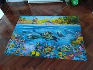 puzzle 6000 piezas montado