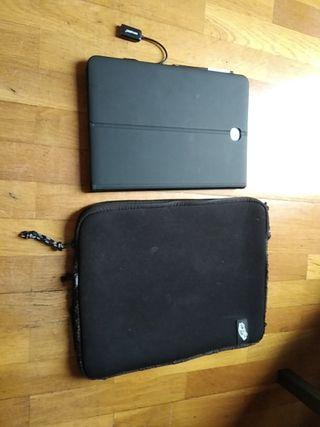 Tablet Samsung Galaxy Tab A + Teclado y funda