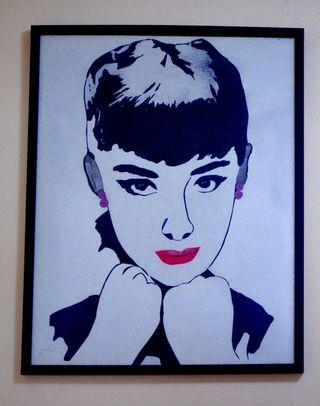 Cuadro Audrey Hepburn