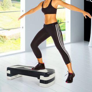 Tabla de Step Ajustable y Antideslizante Fitness