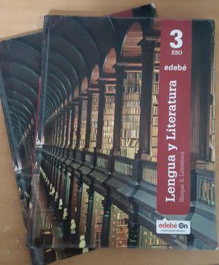LIBROS DE CASTELLANO 3°ESO