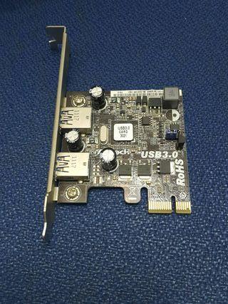 tarjeta PCI-E USB 3.0