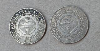 Monedas 1 peso Filipinas 1997 y 1998