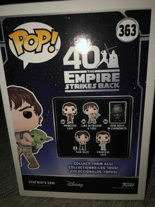 FUNKO POP - LUKE SKYWALKER & YODA # 363