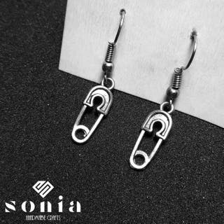 Pendientes imperdible mini
