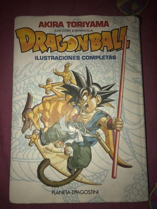 Libro de Ilustraciones Completas de Dragon Ball