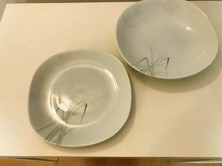 Fuentes porcelanas Bidasoa