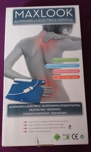almohadilla eléctrica cervical