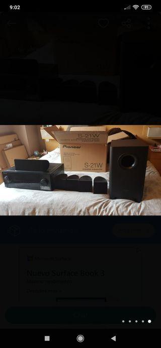 amplificador home cinema 5.1 pioneer VSX-422