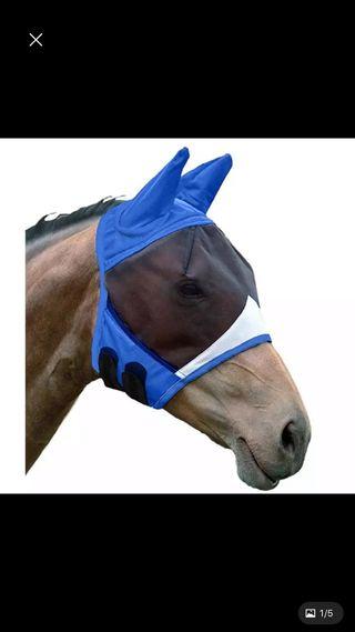Mascara moscas caballo