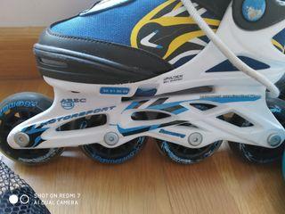 patines en linea para niños con protecciones