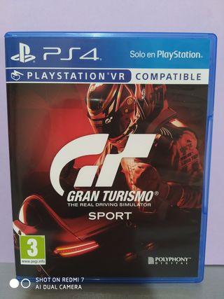 Gran turismos Sport PS4