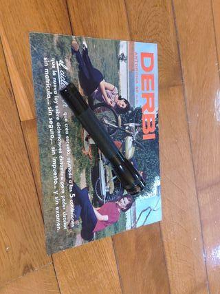 catálogo original derbi antorcha paleta Verde