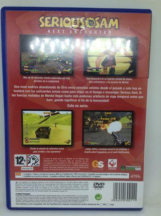 SERIOUS SAM Next Encounter Playstation 2 PS2