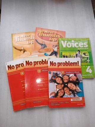 Pack 6 libros inglés