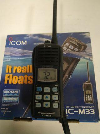 Emisora marina ICOM IC-M33