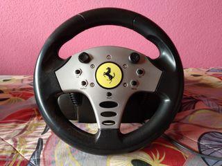 Volante y Pedales Shock2 Ferrari Playstation