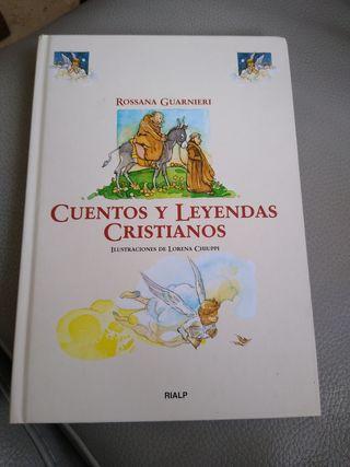 """Libro infantil """"Cuentos y leyendas cristianos"""""""