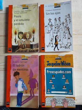 Pack 4 libros El Barco de Vapor a partir de 9 años