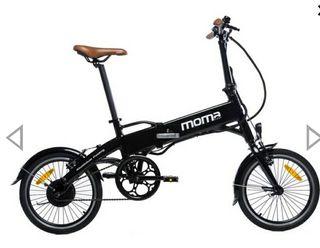 Moma Bikes Bicicleta Electrica, Plegable