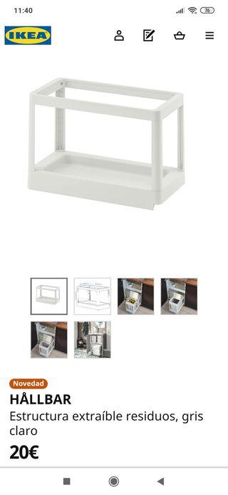 Estructura extraible para armarios cocina Ikea de segunda