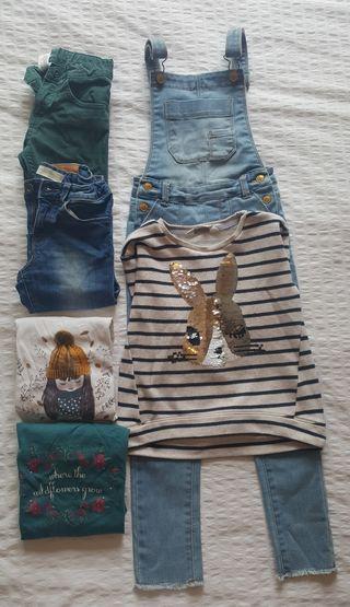 Lote ropa niña 4 a 6 años.