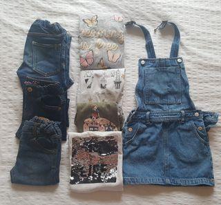 Lote ropa niña 4 a 6 años