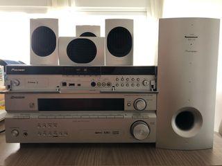 Amplificador Pioneer VSX-416, DVD y home cinema 5